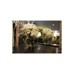 All White Brides Bouquet
