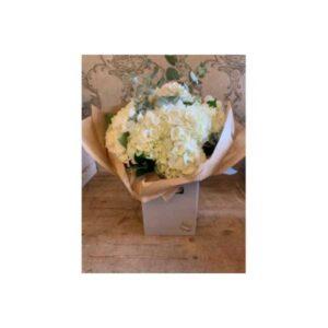 Hydrangea Bouquet With Eucalyptus