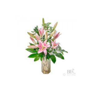 Simply Pink Lilies